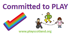 Scotland Committed to play logo