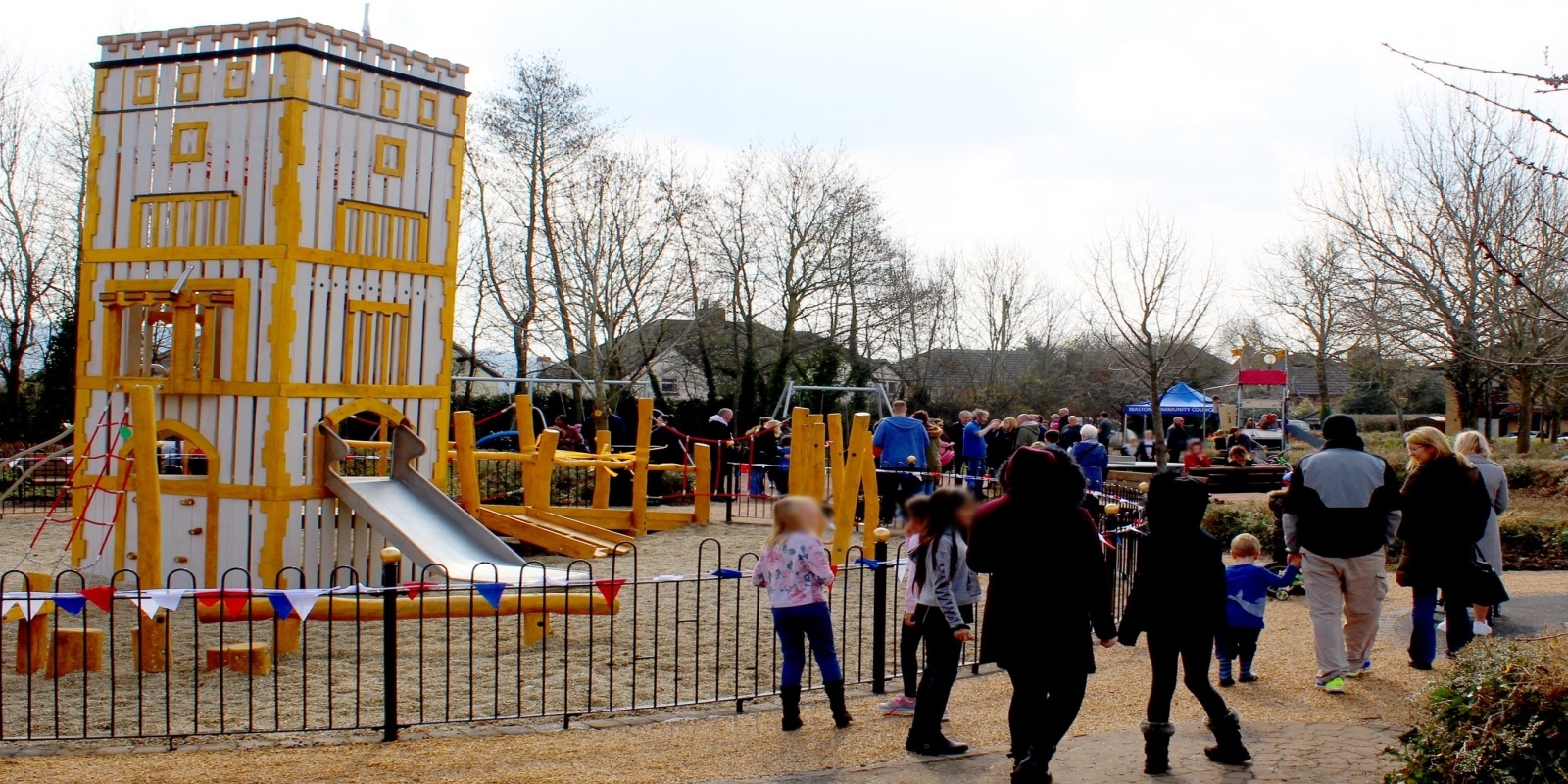 Opening Wavendon Gate Play Area