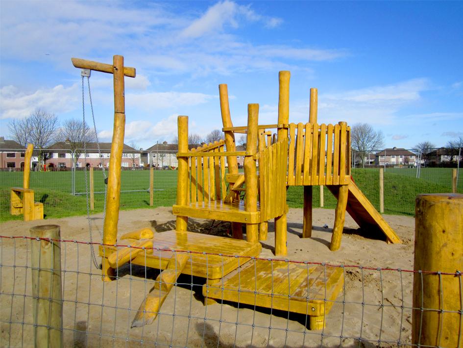Natural Play In Beechfield Park Walkinstown Dublin 12