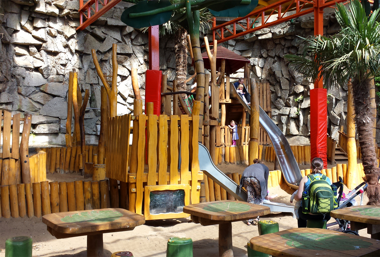 Play area for the Dublin Zoo - designed, supplied and installed by CPCL