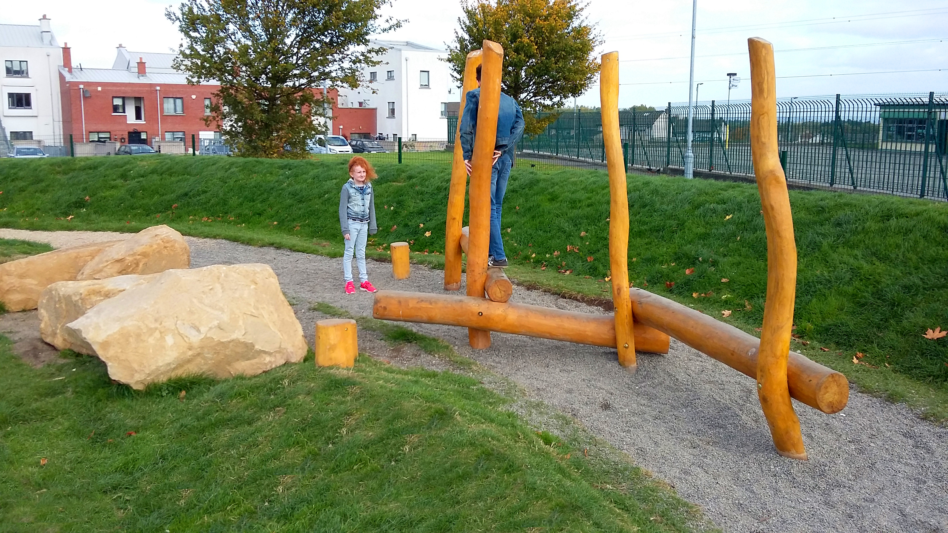 Natural Playspace For Avonbeg Gardens In Tallaght The
