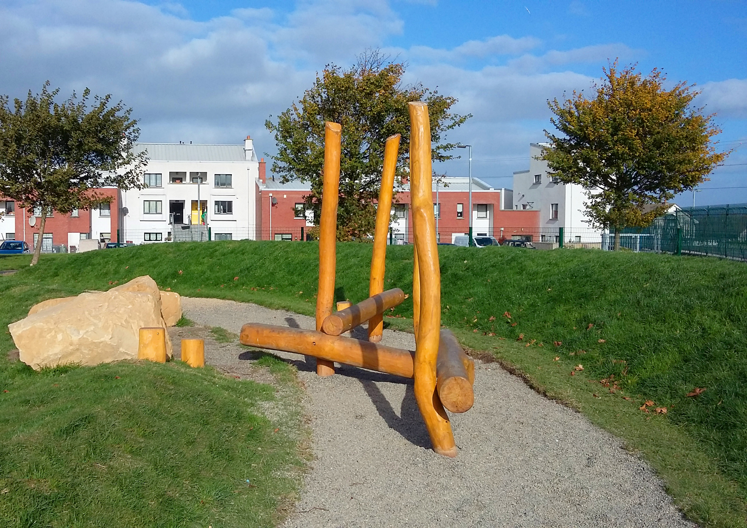 Balancing Log Walk The Children S Playground Company