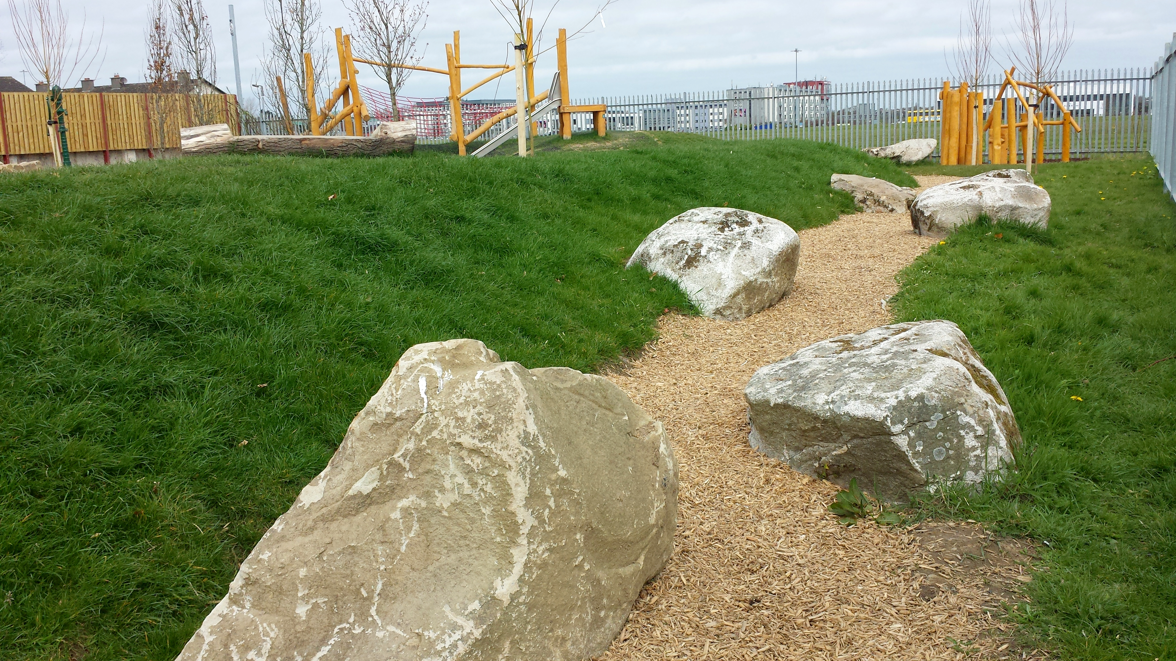 Natural playground for Quarryvale in South Dublin