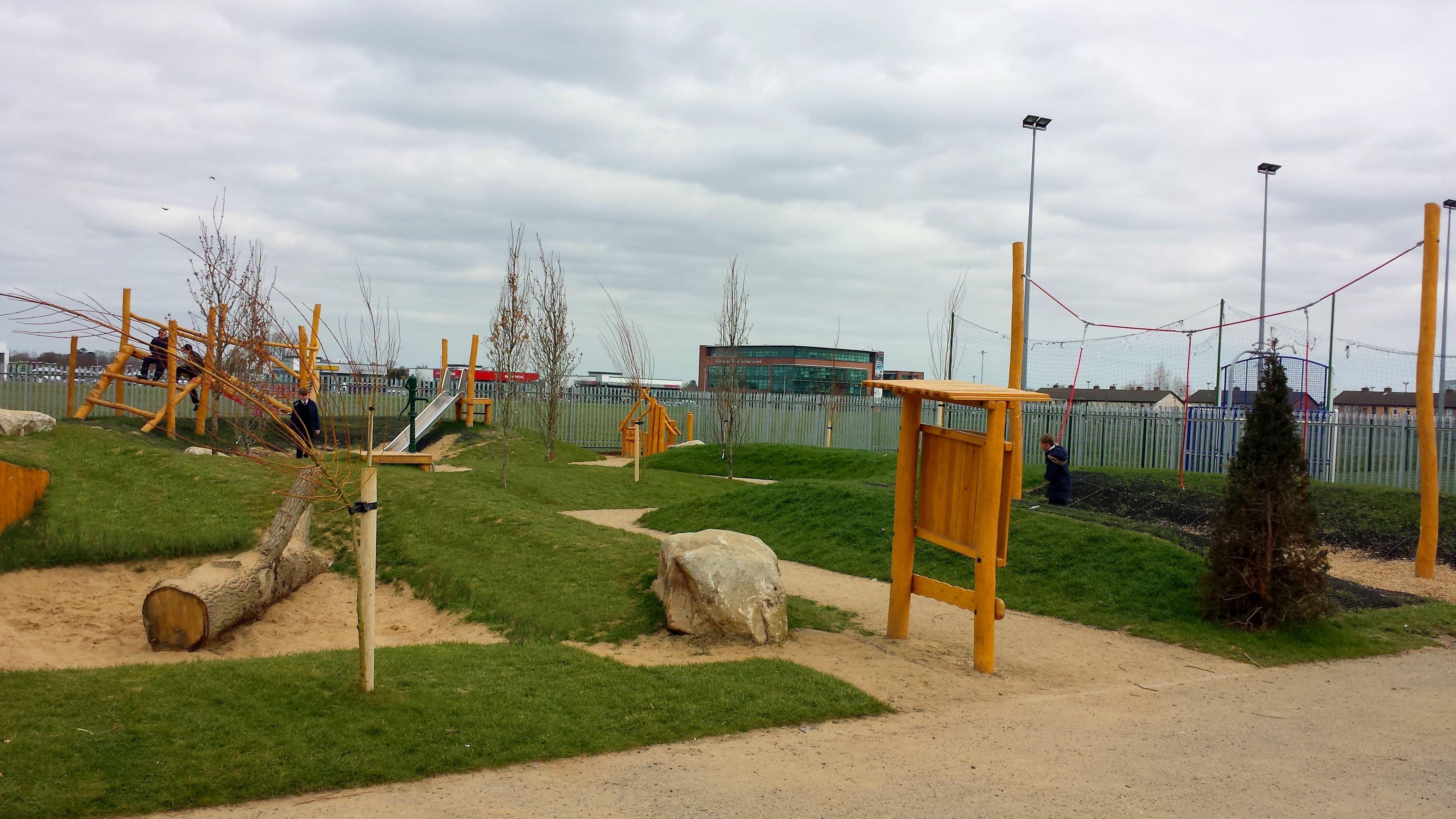 Playground for Quarryvale in South Dublin