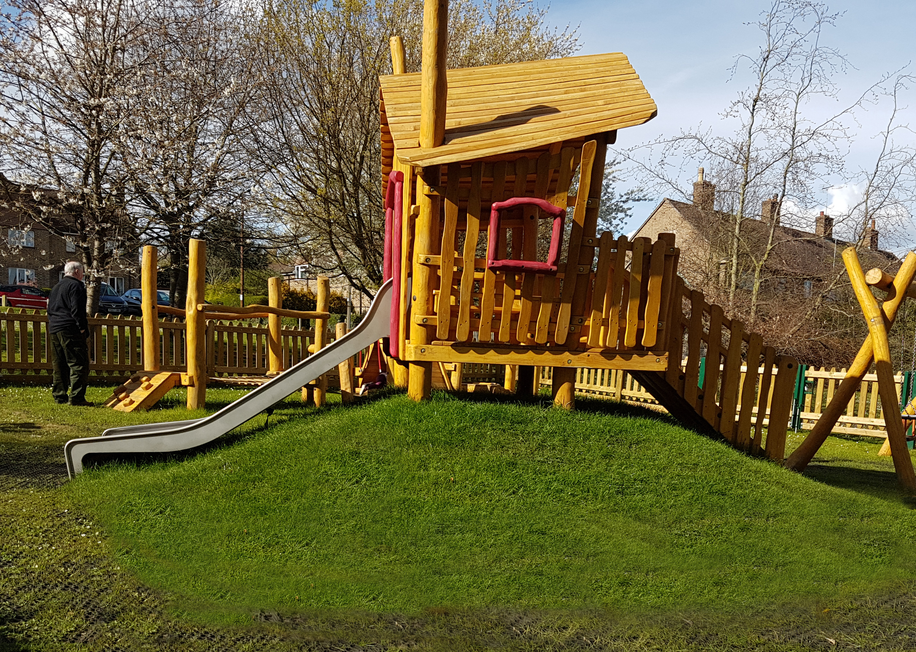 Wansford Play area, Play train for toddlers - Imaginative Play