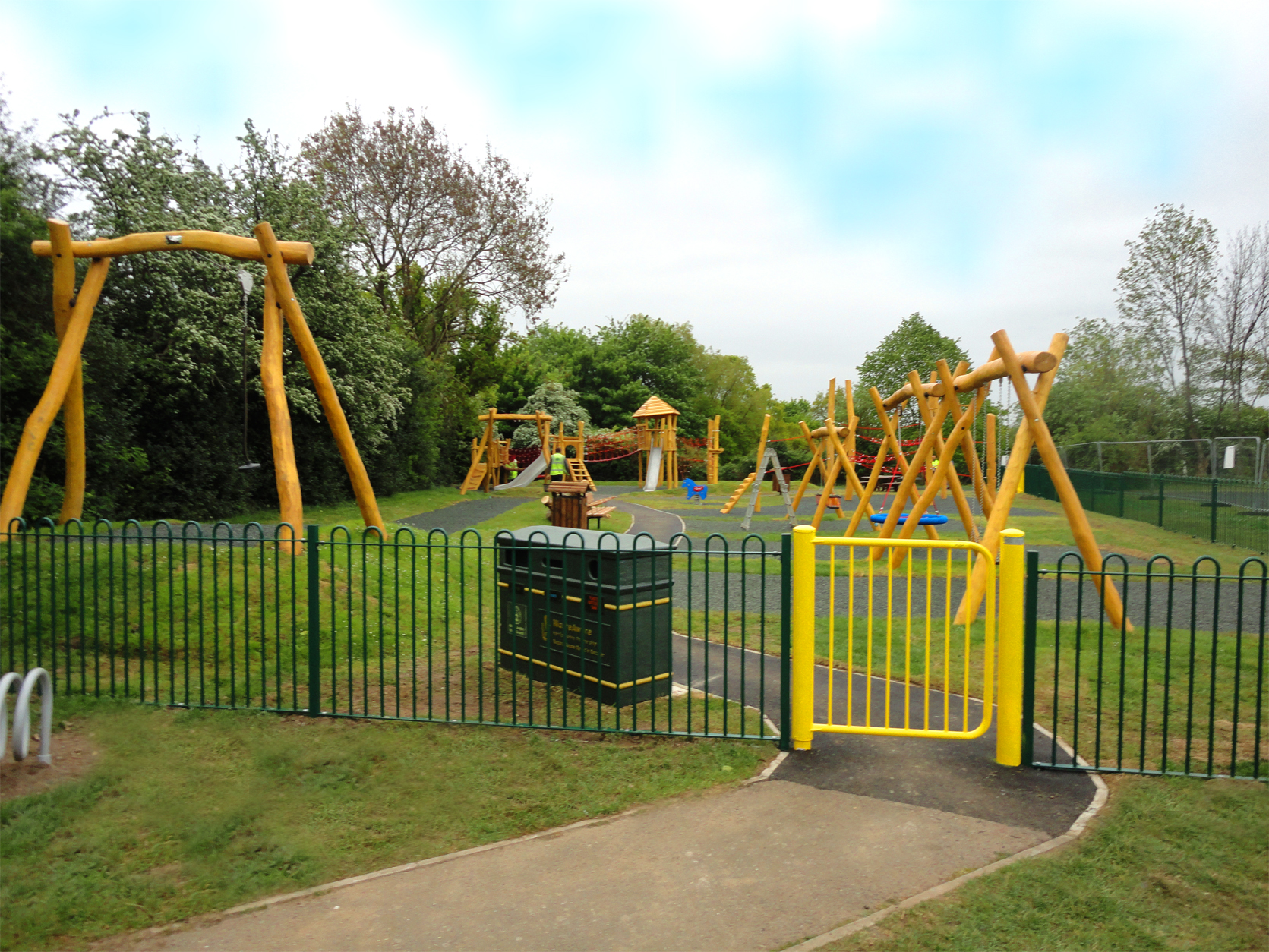 New Playground for Bedmond Sports Ground in Abbots Langley
