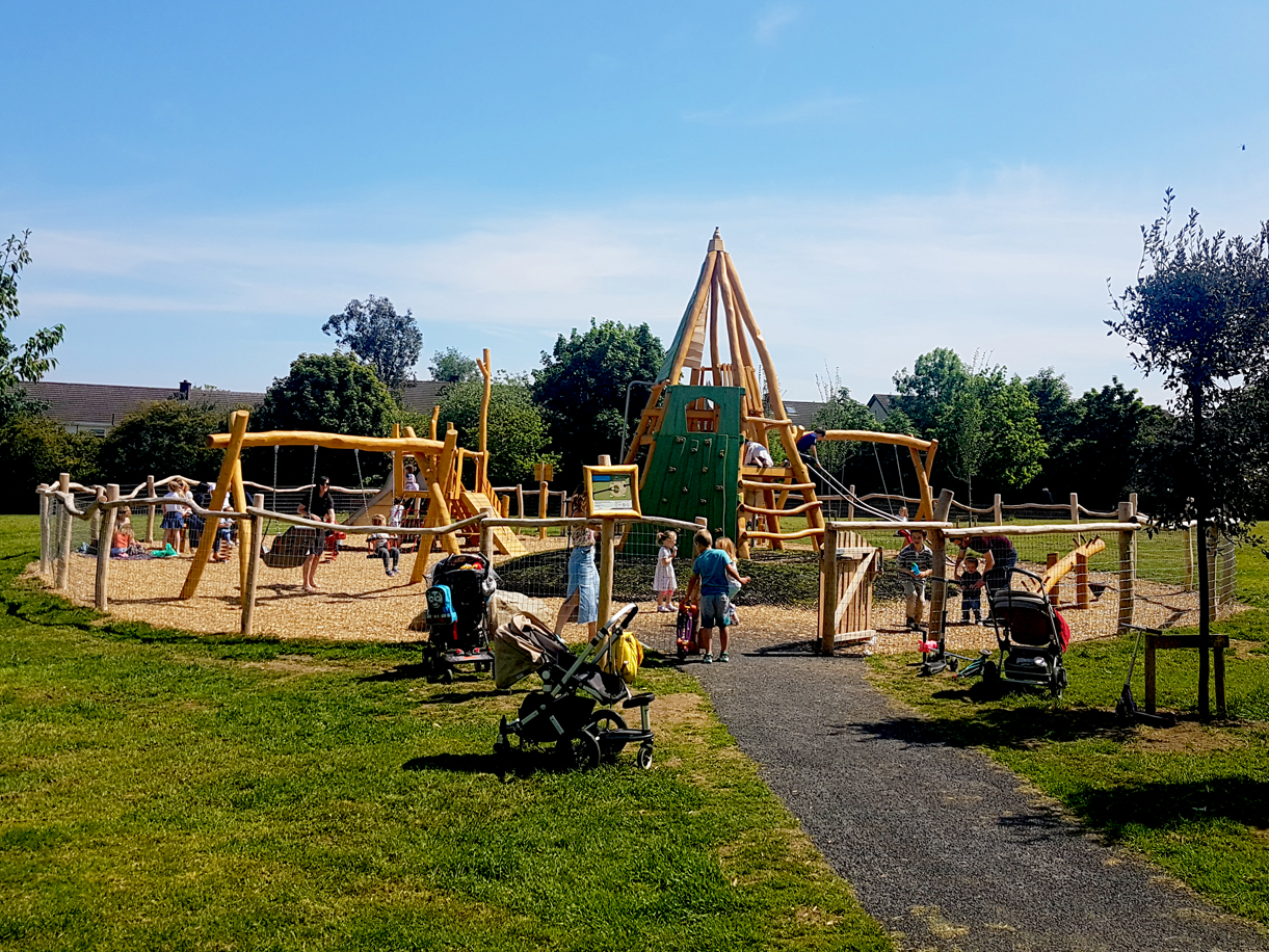 Natural Landscapes for Play, designed, supplied and installed by CPCL