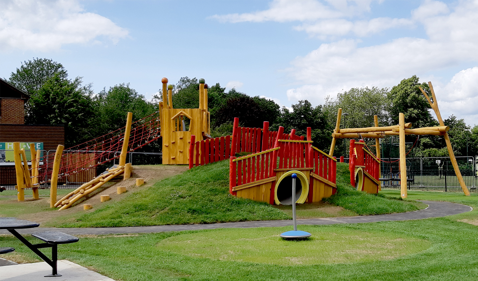 Leavesden Country Park The Children S Playground Company