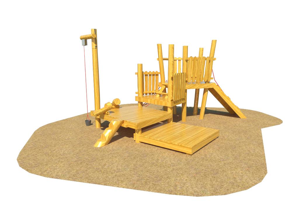 Sand Play Unit Beechfield The Children S Playground Company
