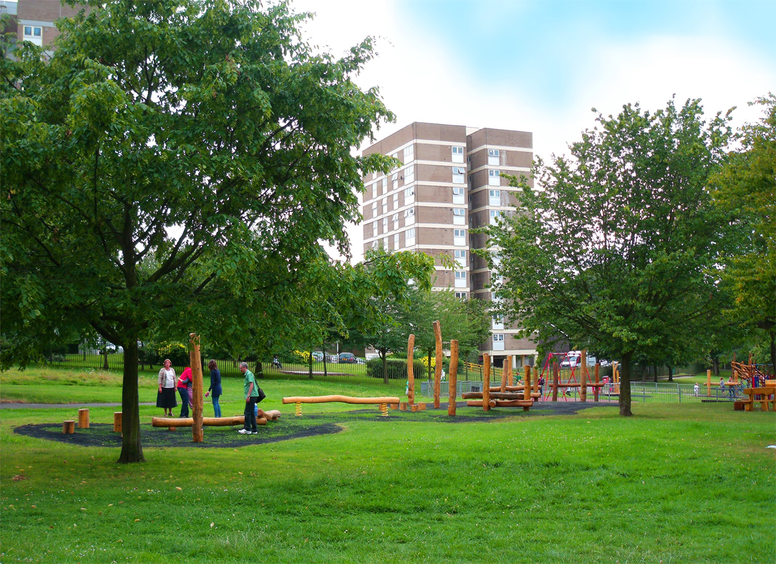 Playground for Westow Park in Croydon