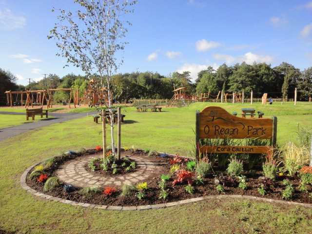 Playground for O'Regan Park in Clare