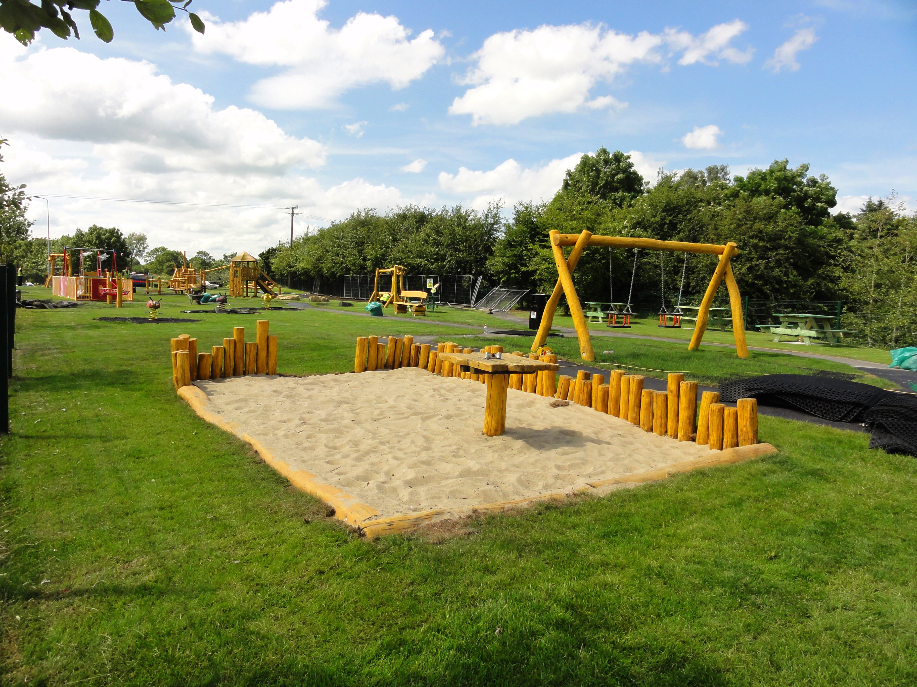 Sand play area in Trim, Co. Meath