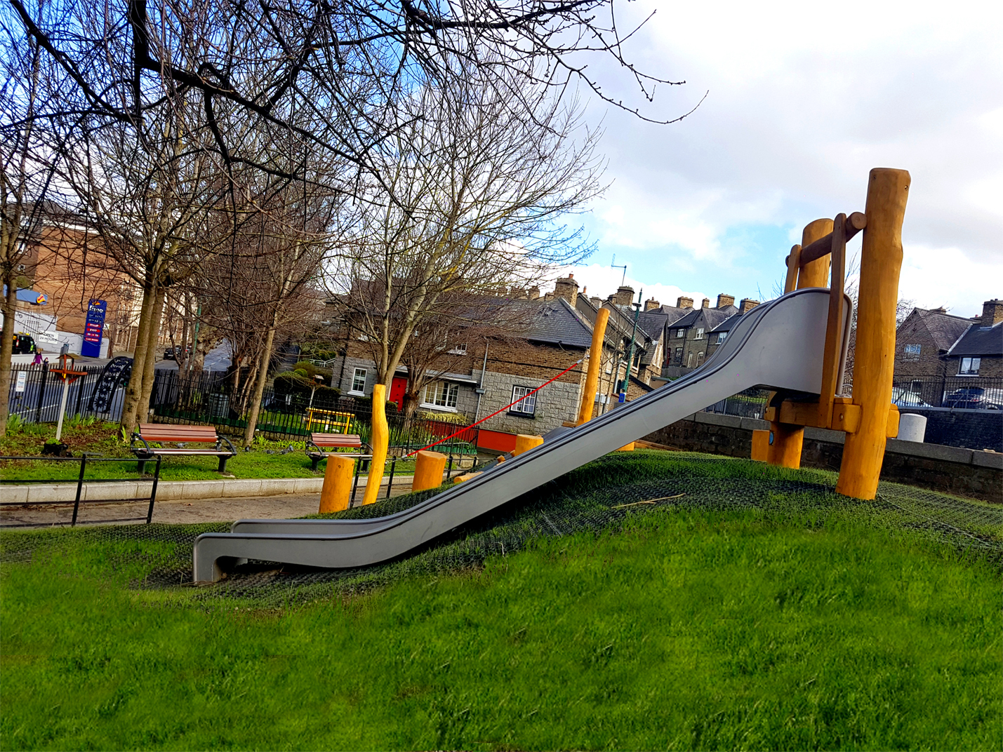 Playground for Mount Brown in Dublin by CPCL 01.2017