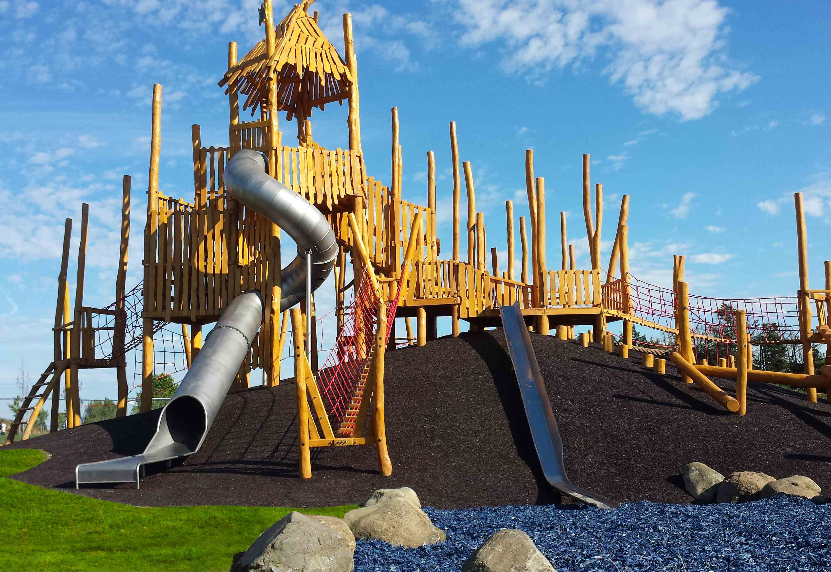 Playground for Northala Fields, located in London