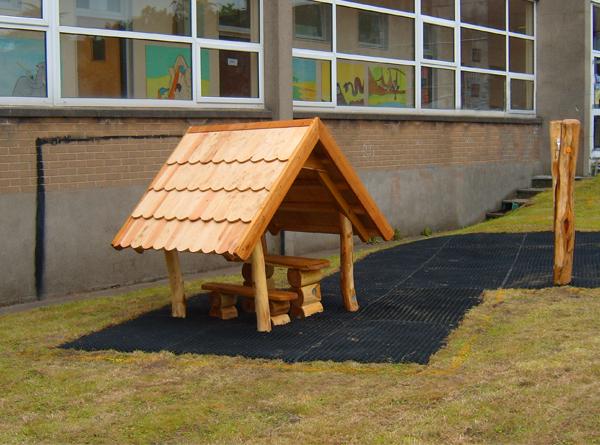 Playground for Goldenbridge Nursery school in Dublin