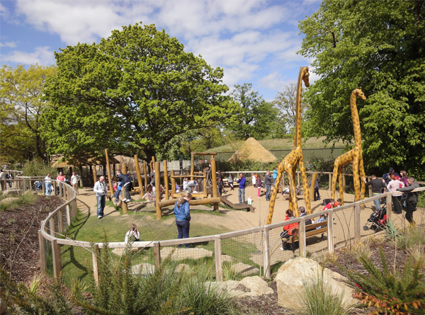 African Savanna, Play area for the Dublin Zoo - designed, supplied and installed by CPCL in 2009
