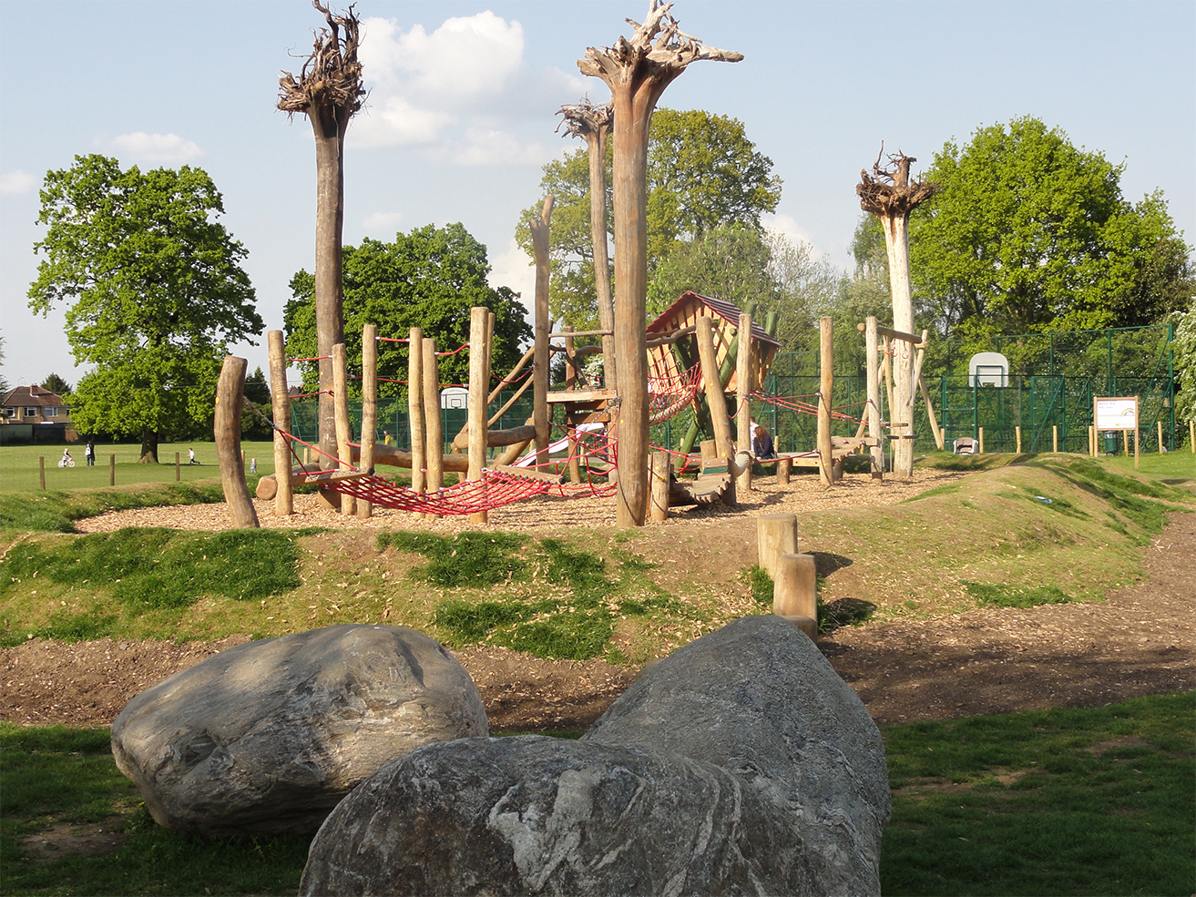 Natural Playground In Rickmansworth Barton Way The