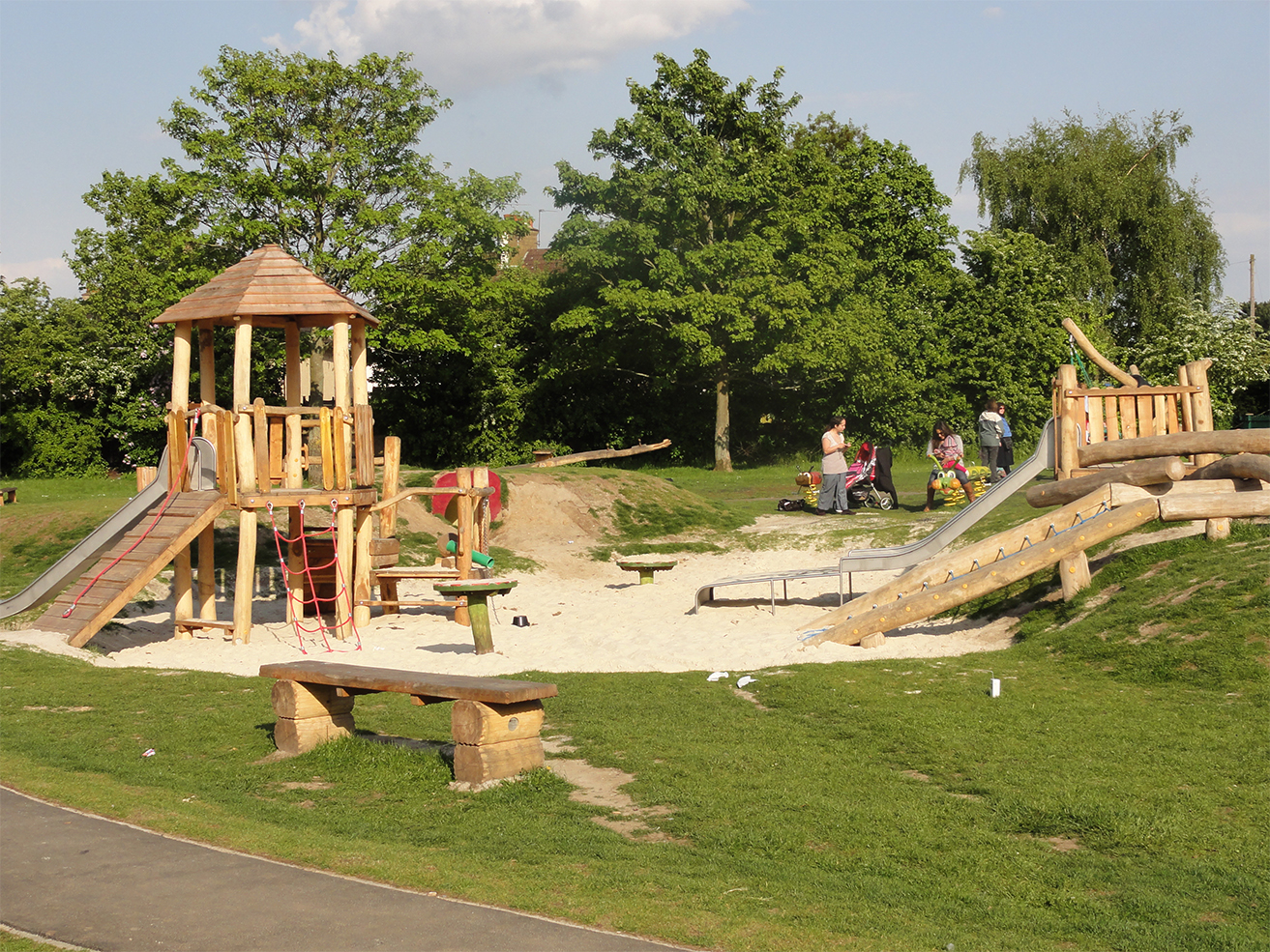Natural Landscapes For Play Designed Supplied And Installed By Cpcl