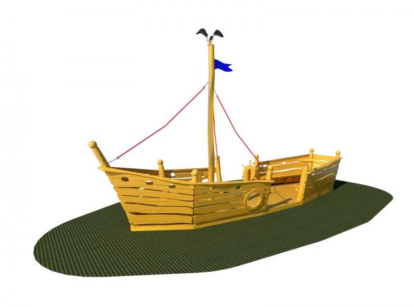 5.6006 - Play boat Platypus
